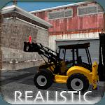 Backhoe Loader Factory Game icon