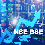 India NSE Stock Shares Market BSE Sensex Nifty icon