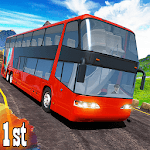 Real City Coach Offroad Bus 2019 Driving Simulator icon