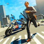 Crime Cop Bike Police Chase for pc logo
