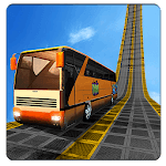 Bus Impossible Tracks Stunt Racing 3D Coach Driver icon