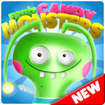 Candy Monsters - Pop The Fruit Candy Juice Crush for pc logo