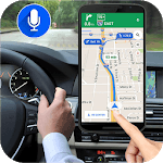 Gps Live Voice Navigation Driving Route Direction icon