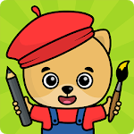 Coloring games for kids for pc logo