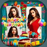 Happy Birthday : Cake, Status, Card & Photo Frame icon