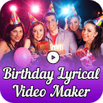 Birthday Lyrical Video Maker icon