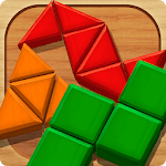 Block Puzzle Games: Wood Collection for pc logo