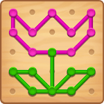 Line Puzzle: Color String Art for pc logo