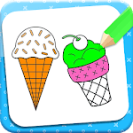 Ice Cream Coloring Book icon