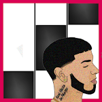 Anuel AA Karol G Secreto Piano Black Tiles icon