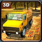 Farm Fruits Transporter Truck icon