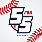 5 for 5 Baseball icon