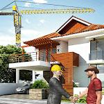Mega Home Construction City Builder House Games icon