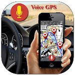 Voice GPS Driving Directions, Gps Tracker, Maps icon