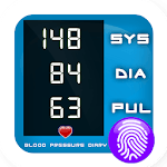 Blood Pressure Check Diary: Monitor Your Health icon