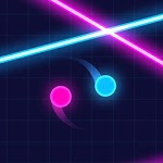Balls VS Lasers: A Reflex Game icon