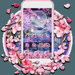 Pink Blossom Night Theme icon