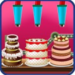 Chocolate Birthday Cake Factory - Dessert Making icon