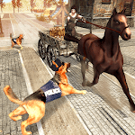 Police Dog Chase : Medieval Times icon