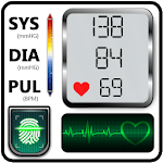 Blood Pressure Check Diary : History Log : BP Info icon