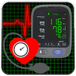 Blood Pressure Tracker : Scan Test Checker Diary for pc logo