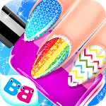 Nail salon game - Nail Art Designs icon