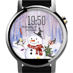 Snowman ⛄ Free Watch Face icon