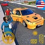 Yellow Cab American Taxi Driver 3D: New Taxi Games icon