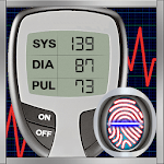 Blood Pressure Logger : Scan Tracker, Checker Test icon
