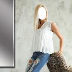 Casual Girl Dress Photo Editor icon
