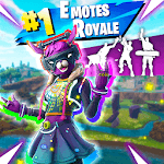 Emotes Royale: Dances Battle Royale Perfect Timing for pc logo