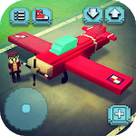 Plane Craft: Square Air Fly Simulator Flying Games icon