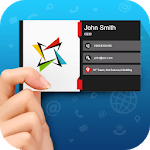 Business Card Maker and Visiting Card Designer icon