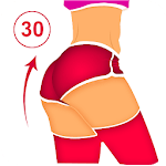 Buttocks, Legs and Hips Workout icon