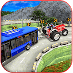 Offroad Towing Chained Tractor Bus 2019 icon