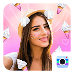 Sweet Face Camera-Free Sweet Candy Live Stickers icon