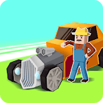 Crazy Car: Fast Driving In Town icon