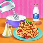 Make Pasta Food Kitchen Fever icon