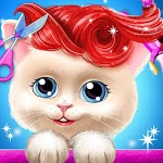 Pet Kitty Hair Salon Hairstyle Makeover icon
