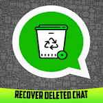 Recover Deleted Chat: mobile & sd icon