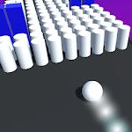 Bump color 3D icon