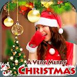 Christmas Photo Frame : Cake & Photo Card Maker icon
