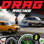 Fast cars Drag Racing game for pc logo