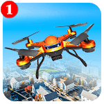 City Drone Attack-Rescue Mission & Flight Game icon