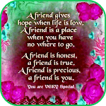 Best Friend Quotes for pc logo