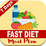 7 DAYS FAST DIET MEAL PLAN icon