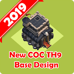 New Best COC Town Hall 9 Base Map for pc logo