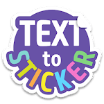 Texticker, Create Text Stickers - WAStickerApps icon