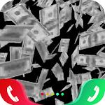 Money Rain Caller Screen for pc logo