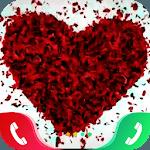 Rose Love Caller Screen icon